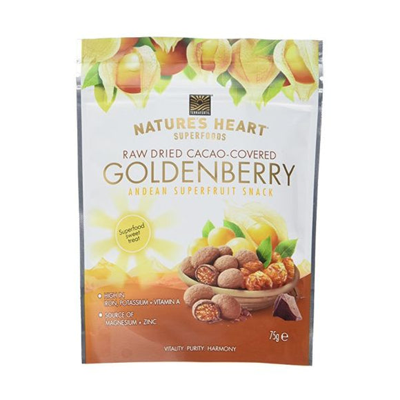 Natures Heart Cacao Covered Goldenberry
