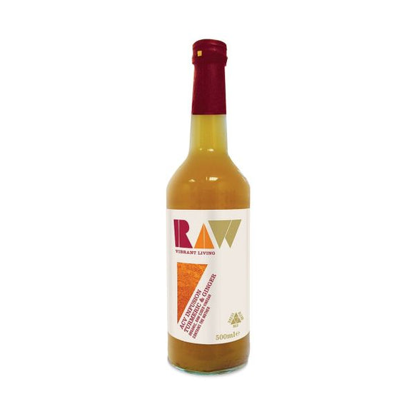 Raw Health Org Raw Apple Cider Vinegar Blend With Turmeric & Ginger