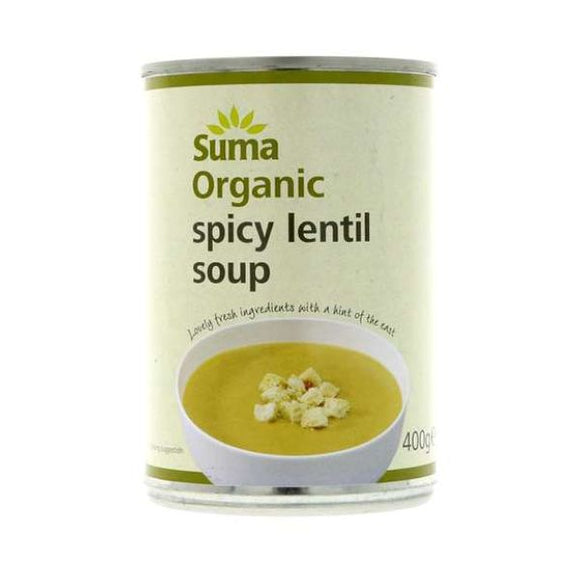 Suma Wholefoods Organic Spicy Lentil Soup