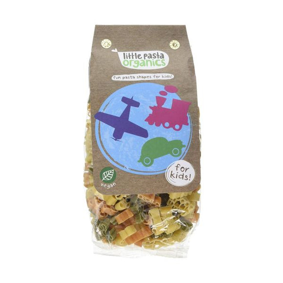 Little Pasta Organics Organic Tricolour Travel Pasta
