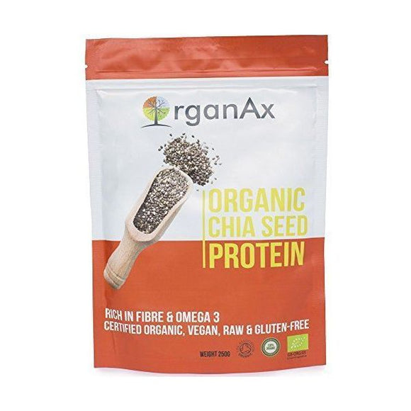Organax Superfood Organax Superfood Organic Chia Seed Protein 250G
