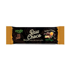 Vegeway Raw Chocolate Orange & Nut Mix 35G x 24