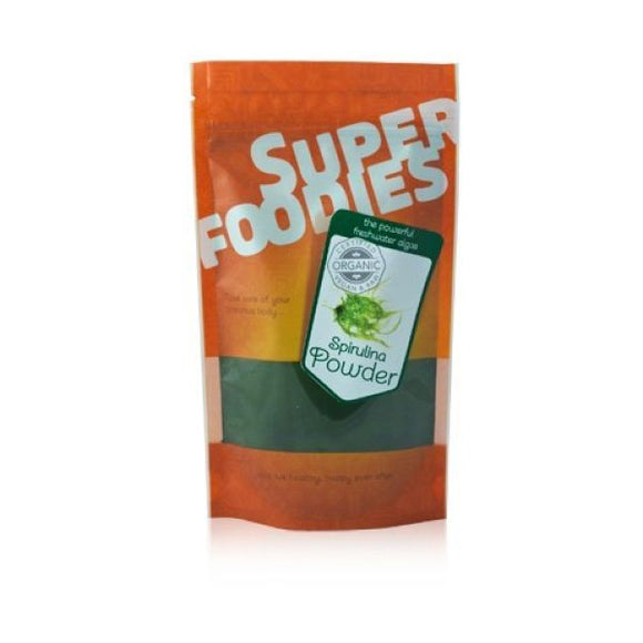 Superfoodies Organic Spirulina Powder 75G