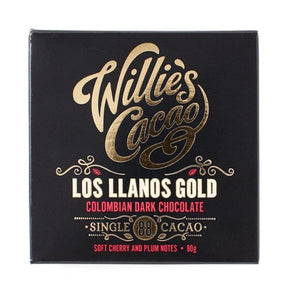 Willie's Cacao Los Llanos Gold Colombian 88 80G x 12