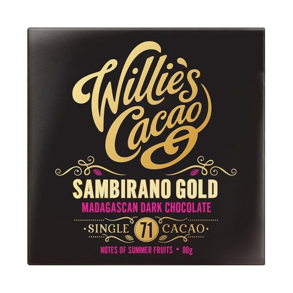 Willie's Cacao Sambirano Gold Madagascan 71 80G x 12