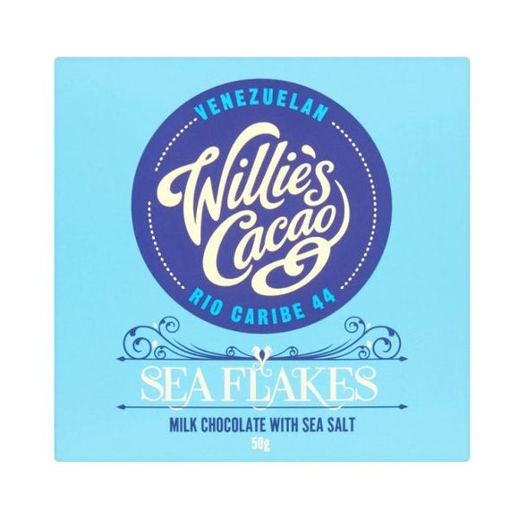Willie's Cacao Sea Flake 50G x 12