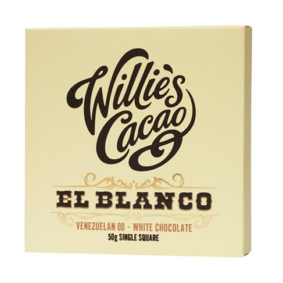 Willie's Cacao El Blanco 50G x 12