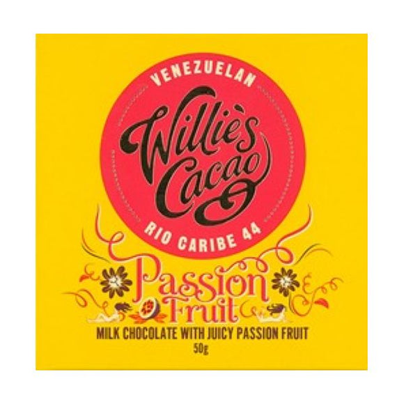 Willie's Cacao Passion Fruit 50G x 12