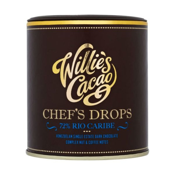Willie's Cacao Chef'S Drops Rio Caribe 72 150G x 6