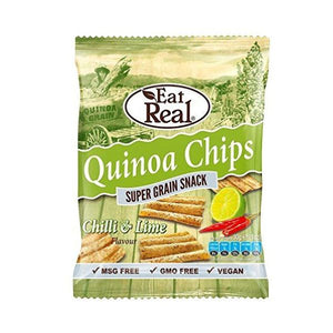 Eat Real Eat Real Quinoa Chips Paprika 30g  x 12