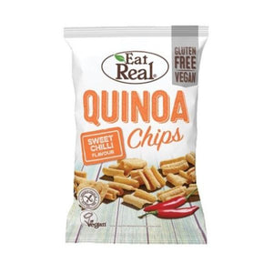 Eat Real Eat Real Quinoa Chips Swt Chil 80g  x 10