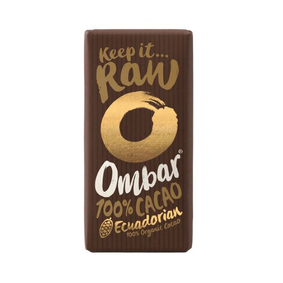 Ombar Ombar Org 100% Cacao 35g  x 10