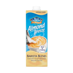 Bd BD Almond Breeze Barista 1lt  x 8