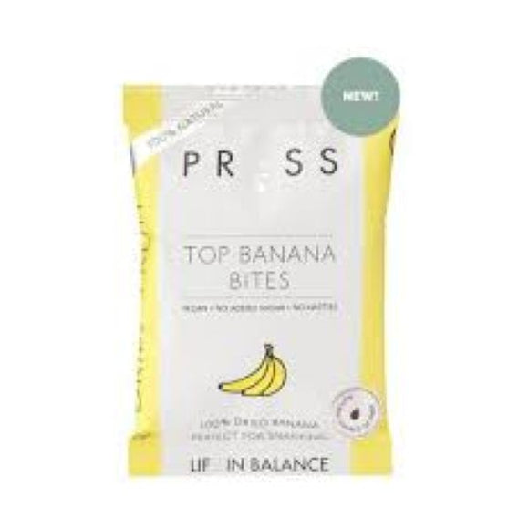 Press Press Top Banana Bites 50g  x 6