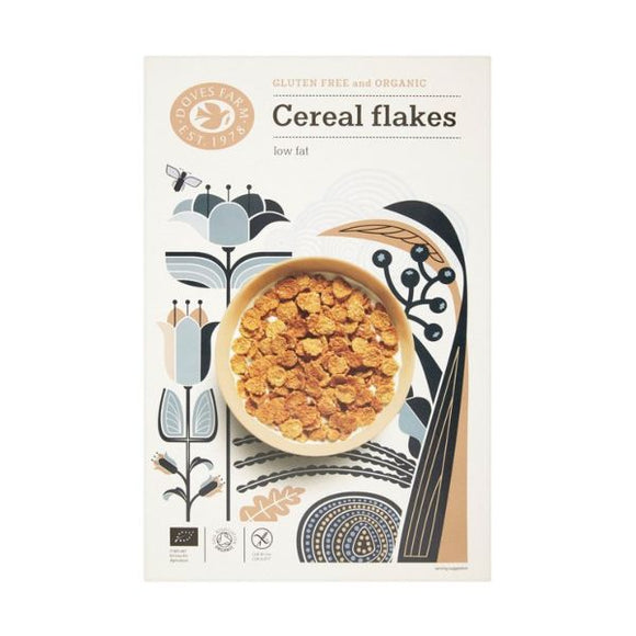 Doves Doves Org Cereal Flakes 375g