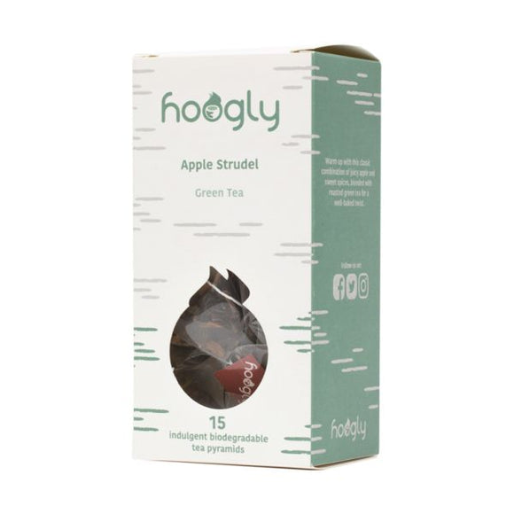 Hoogly Hoogly Tea Apple Strudel 15bags
