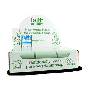 Faith In Nature Rosemary Bulk Soap Unwrapped 100g 18 Pack
