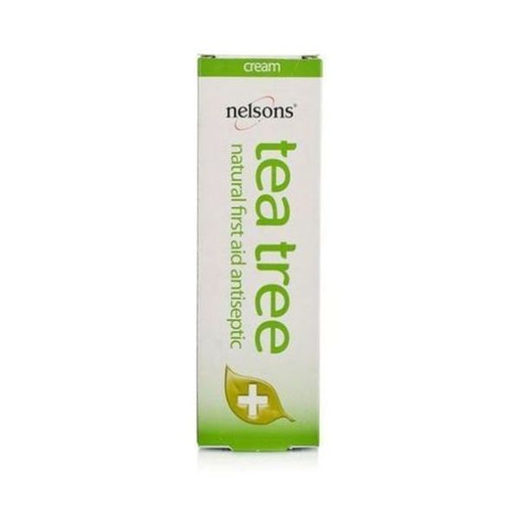 Nelsons Tea Tree Cream -  Natural First Aid Antiseptic 30g