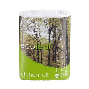 Suma Ecoleaf Soft Kitchen Towel Recycled Paper 2rolls 12 Pack