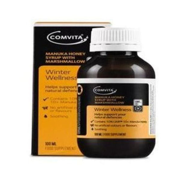 Comvita Manuka Honey Syrup with Marshmallow 100ml