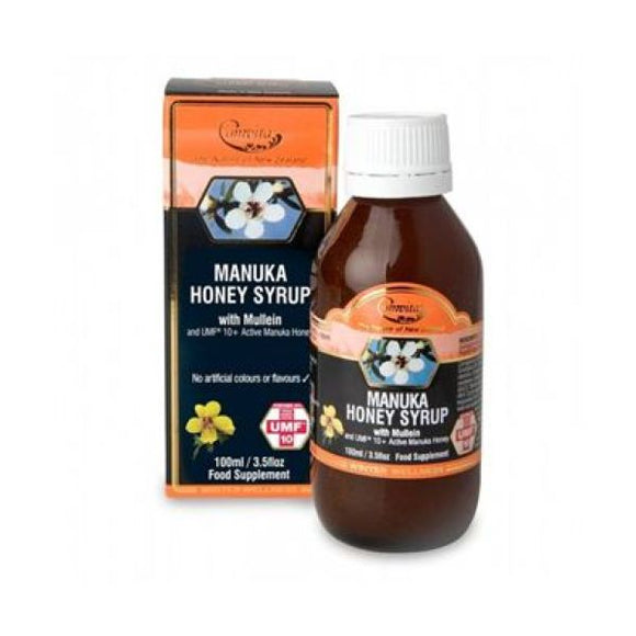 Comvita Products Manuka Honey Syrup with Mullein 100ml