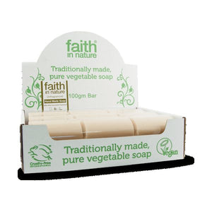 Faith In Nature Seaweed Soap Bulk 100g 18 Pack