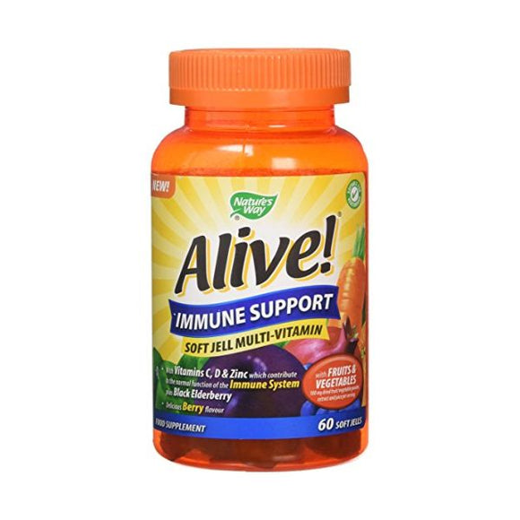 Alive! Immune Support Soft Jells 60