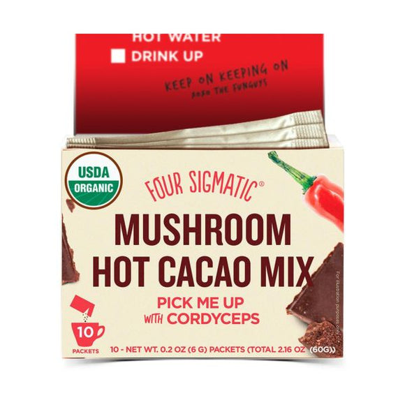 Four Sigmatic FSF Mushroom Hot Cacao Mix Cordyceps