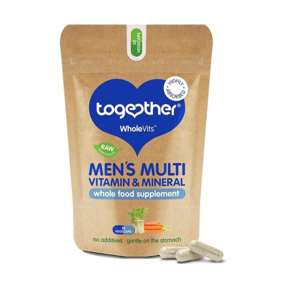 Together WholeVit Men's Multivitamin & Mineral Food Supplement