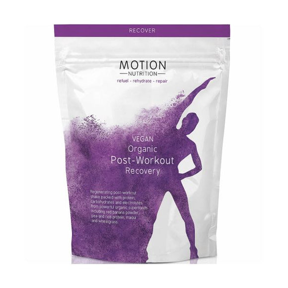 Motion Nutrition Vegan Organic Post Workout Recovery
