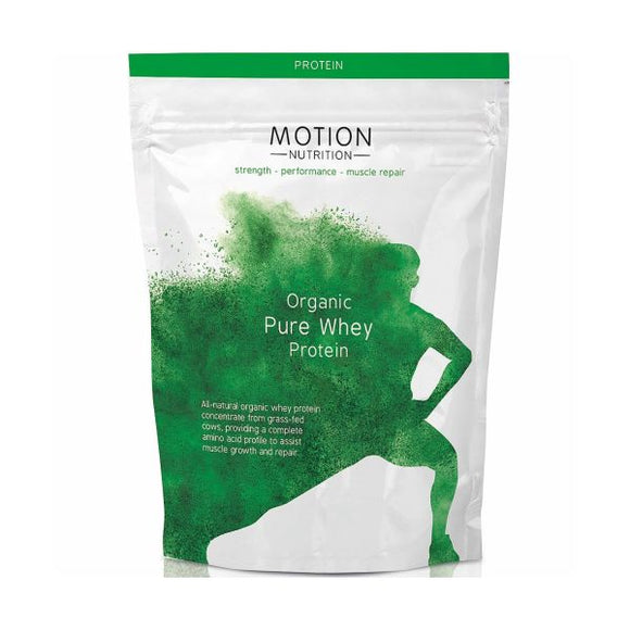 Motion Nutrition Organic Pure Whey Protein