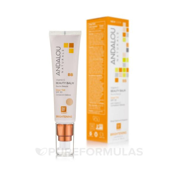 Andalou Naturals Vitamin C BB Beauty Balm Sheer Tint SPF30