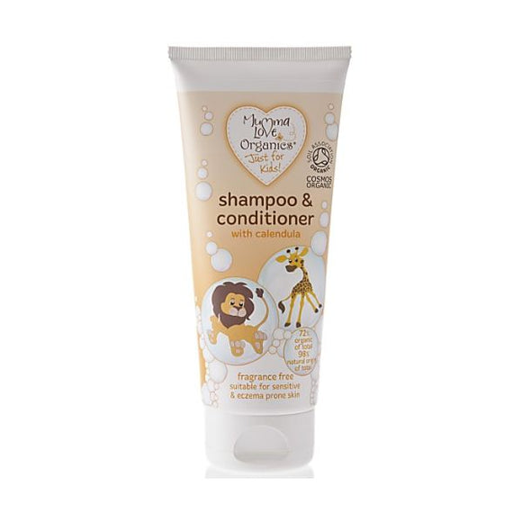 Mumma Love Organics Organic Kids Shampoo & Conditioner