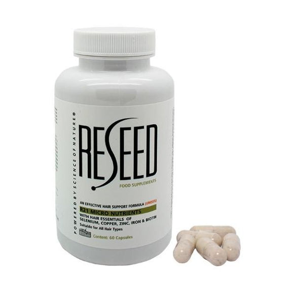 Reseed R21 Micro Nutrients With Hair Essentials 60Caps