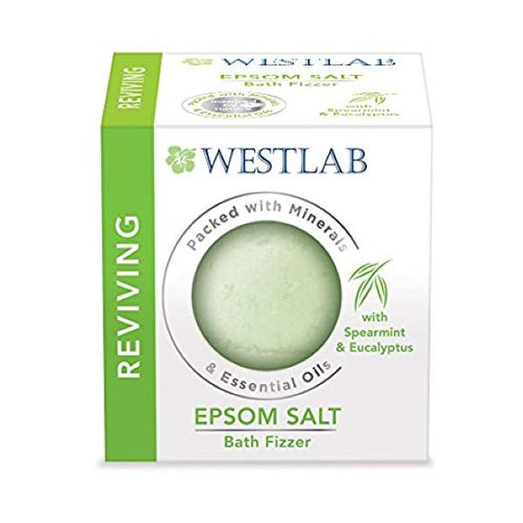 Westlab Ltd Westlab Reviving Epsom Salt Bath Fizzer 150G