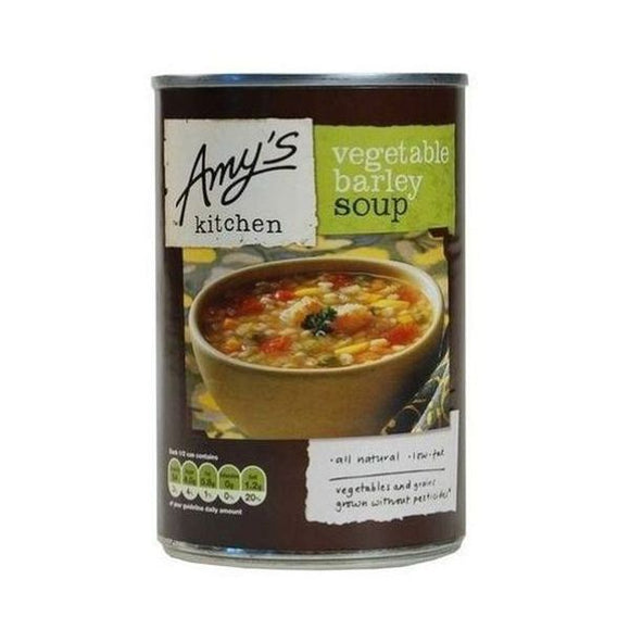 Amys Soups Vegetable Barley Soup 400g
