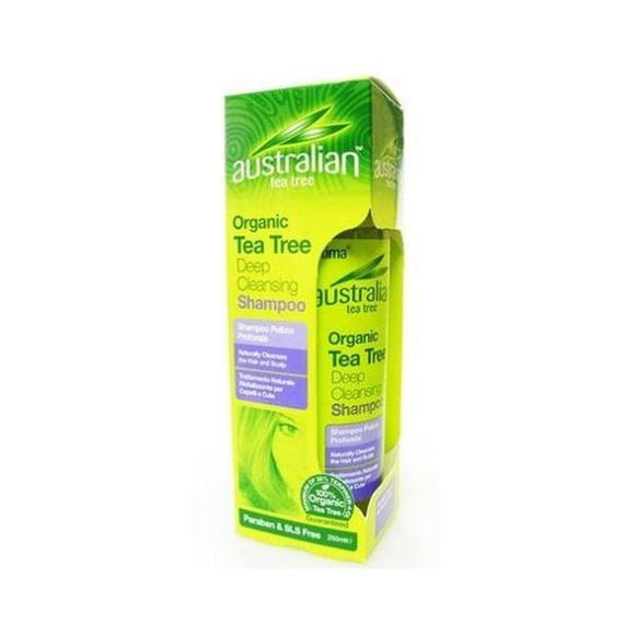 Australian Tea Tree Deep Cleansing Shampoo 250ml