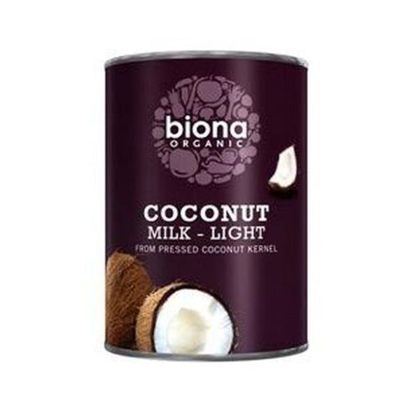 Biona Organic Coconut Milk Light 400ml