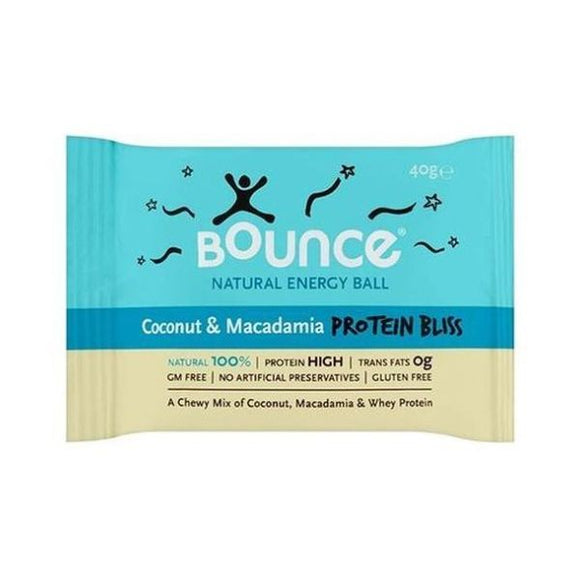 Bounce Coconut & Macadamia - Protein Bliss 40g 40 Pack