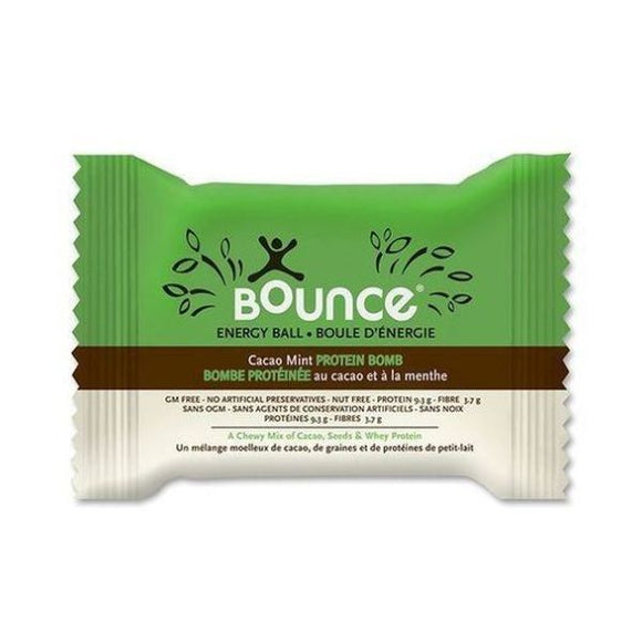 Bounce Cacao Mint Protein Bomb Energy Ball 42g 40 Pack
