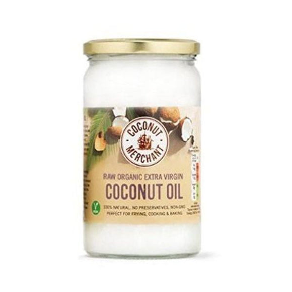 Coconut Merchant Organic Raw Extra Virgin Coconut Oil 1ltr