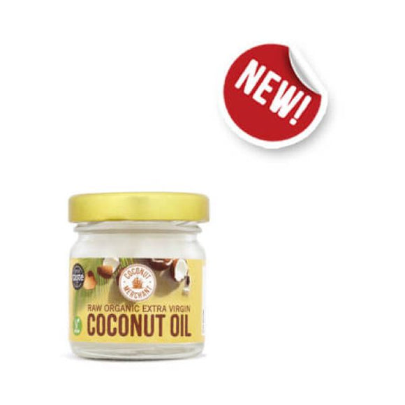 Coconut Merchant Organic Raw Extra Virgin Coconut Oil x 12 pack