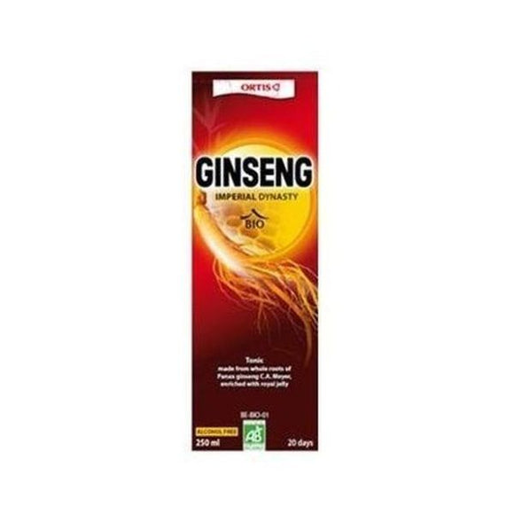 Ortis Organic Ginseng (Replaces Ginseng & Vit E) 250ml