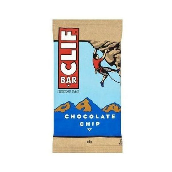 Clif Bar Chocolate Chip 68g 12 Pack
