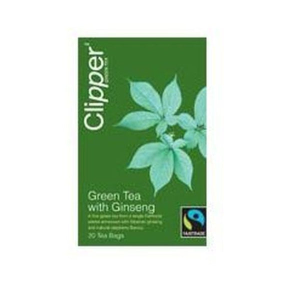 Clipper Green Tea with Ginseng 20bags