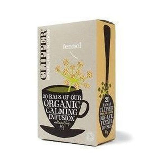 Clipper Organic Infusion Fennel Herbal Tea 20bags