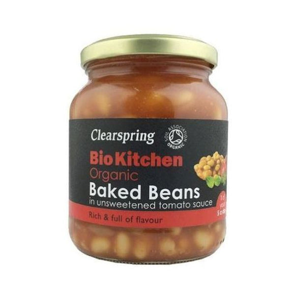 Clearspring Bio Kitchen Organic Baked Beans (Unsweetened) 350g