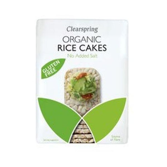 Clearspring Wholefoods Organic Rice Cakes No Added Salt 130g