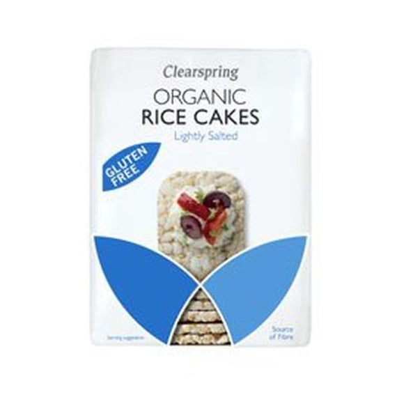 Clearspring Wholefoods Organic Rice Cakes Lightly Salted 130g