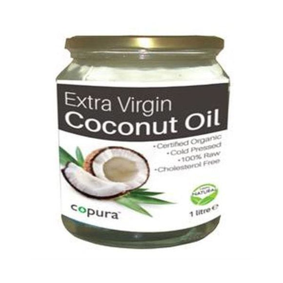 Copura Org Extra Virgin Coconut Oil 1ltr